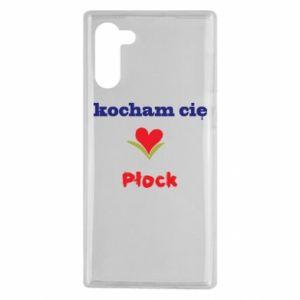 Samsung Note 10 Case I love you Plock