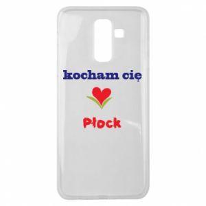 Samsung J8 2018 Case I love you Plock