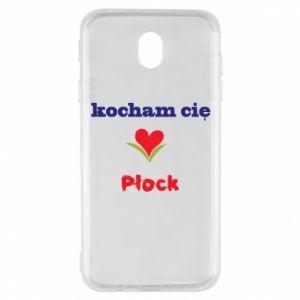 Samsung J7 2017 Case I love you Plock