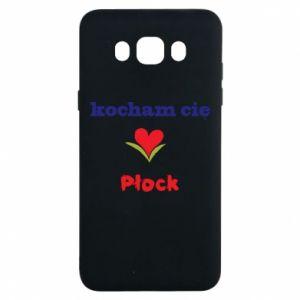 Samsung J7 2016 Case I love you Plock