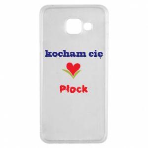 Samsung A3 2016 Case I love you Plock