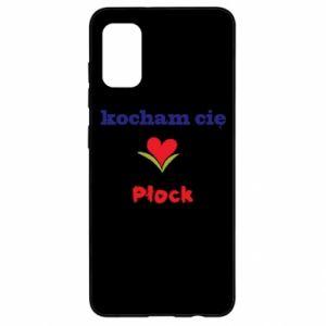 Samsung A41 Case I love you Plock