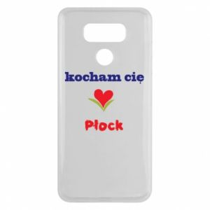LG G6 Case I love you Plock