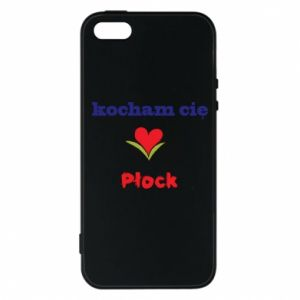 Phone case for iPhone 5/5S/SE I love you Plock