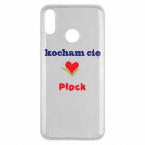 Huawei Y9 2019 Case I love you Plock