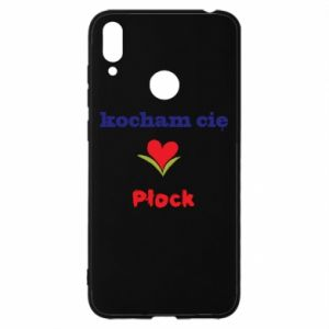 Huawei Y7 2019 Case I love you Plock