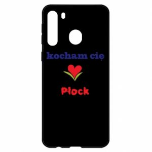 Samsung A21 Case I love you Plock