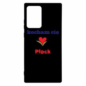 Samsung Note 20 Ultra Case I love you Plock