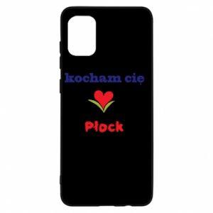 Samsung A31 Case I love you Plock