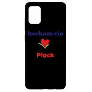 Samsung A51 Case I love you Plock