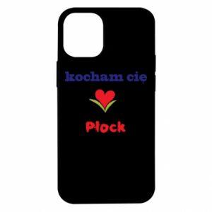 iPhone 12 Mini Case I love you Plock