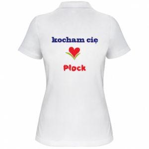 Women's Polo shirt I love you Plock