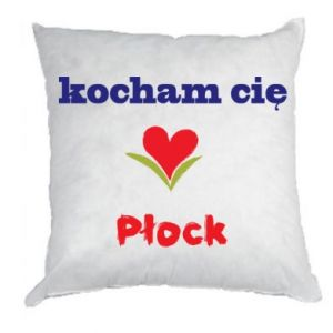 Pillow I love you Plock