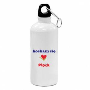 Water bottle I love you Plock
