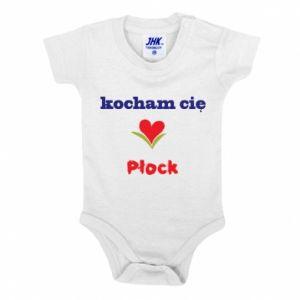Baby bodysuit I love you Plock