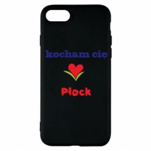 Phone case for iPhone 7 I love you Plock