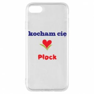 Phone case for iPhone 8 I love you Plock