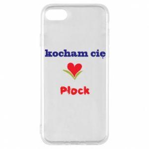 iPhone 8 Case I love you Plock