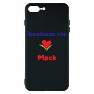 Phone case for iPhone 7 Plus I love you Plock