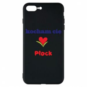 Phone case for iPhone 8 Plus I love you Plock