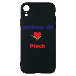 Phone case for iPhone XR I love you Plock