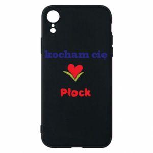 iPhone XR Case I love you Plock