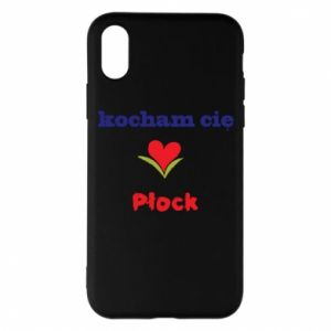 Phone case for iPhone X/Xs I love you Plock