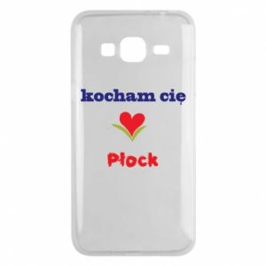 Phone case for Samsung J3 2016 I love you Plock