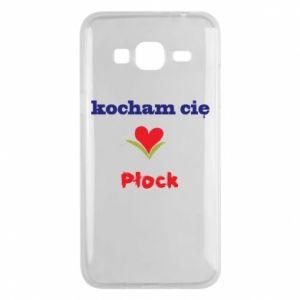 Samsung J3 2016 Case I love you Plock