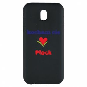 Samsung J5 2017 Case I love you Plock