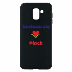 Phone case for Samsung J6 I love you Plock