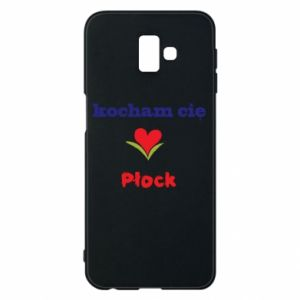 Phone case for Samsung J6 Plus 2018 I love you Plock
