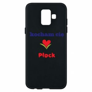 Samsung A6 2018 Case I love you Plock