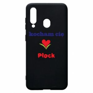 Phone case for Samsung A60 I love you Plock