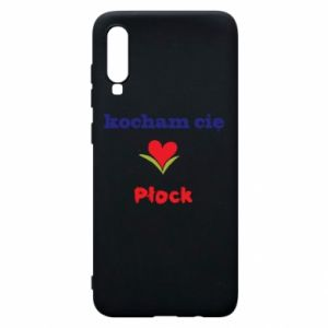 Phone case for Samsung A70 I love you Plock