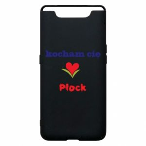 Phone case for Samsung A80 I love you Plock