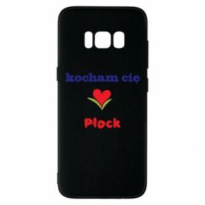 Samsung S8 Case I love you Plock