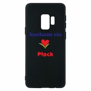 Phone case for Samsung S9 I love you Plock