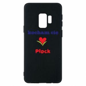 Samsung S9 Case I love you Plock