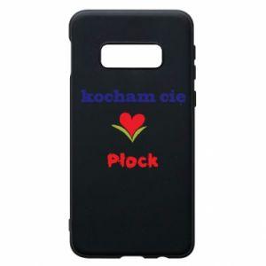Samsung S10e Case I love you Plock