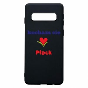 Phone case for Samsung S10 I love you Plock