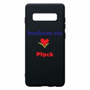 Samsung S10+ Case I love you Plock