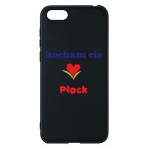 Huawei Y5 2018 Case I love you Plock