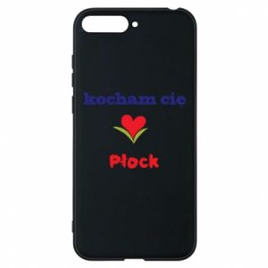 Phone case for Huawei Y6 2018 I love you Plock