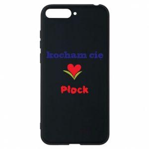 Huawei Y6 2018 Case I love you Plock