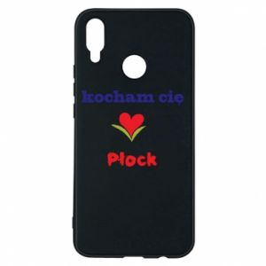 Phone case for Huawei P Smart Plus I love you Plock