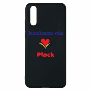 Phone case for Huawei P20 I love you Plock