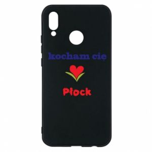 Phone case for Huawei P20 Lite I love you Plock