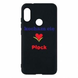 Mi A2 Lite Case I love you Plock