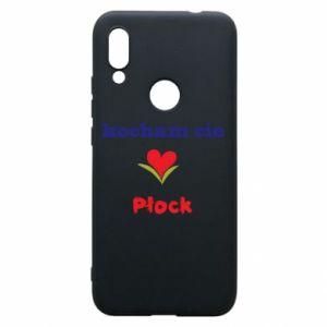 Xiaomi Redmi 7 Case I love you Plock